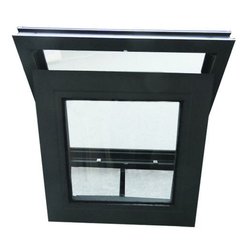 New design aluminum round and awning outside window with tempered glass