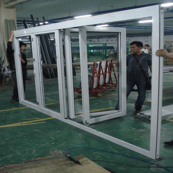 Australia Standard Exterior Glass Folding Doorexterior Aluminium