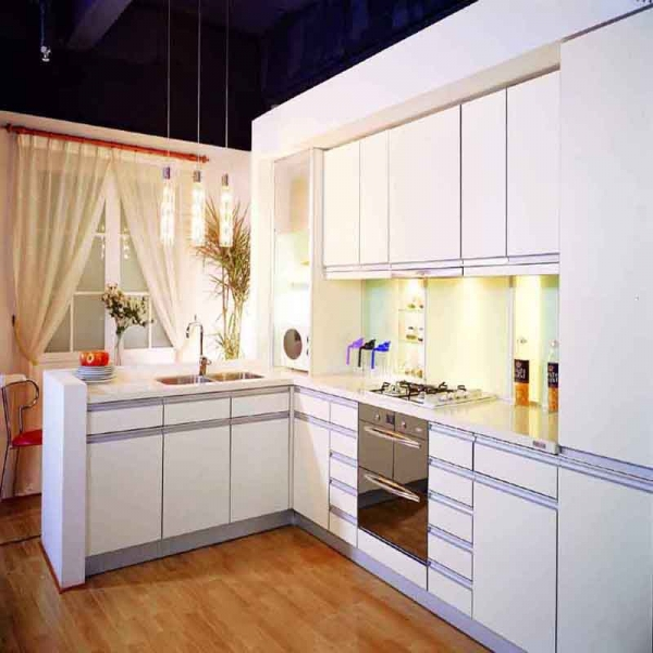 Mdf Wood Kitchen Cabinets: Good Waterproof Mdf Lacquer Kitchen Cabinet,modern Wood