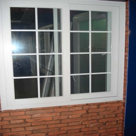 heat insulated door window