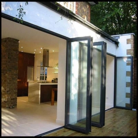 insulated biflod doors