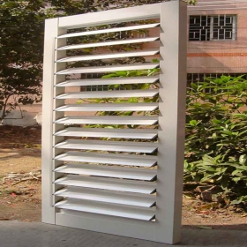 aluminum security shutters