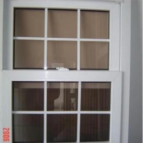 double hung windows with grid