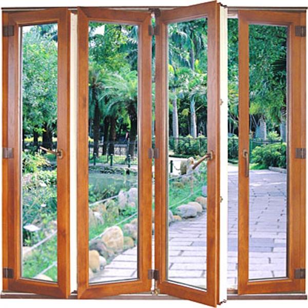Aluminum Folding Wood Door Exteriorexterior Aluminium Folding Doors