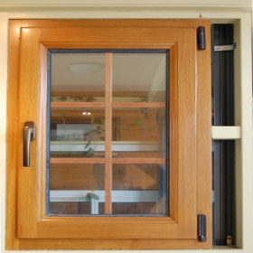 alu wood casement windows