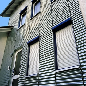 thermal break roller shutter