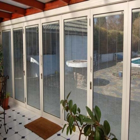 thermal break folding doors