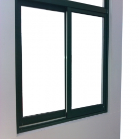 power coated slider window
