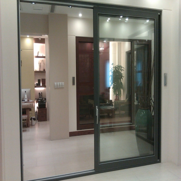 exterior hanging sliding door