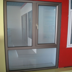 power coated interior window