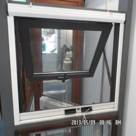 awning window with screen