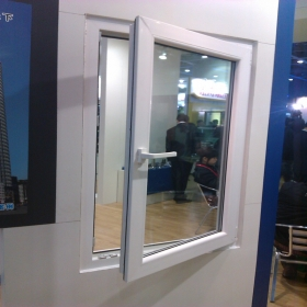 plastic casement window
