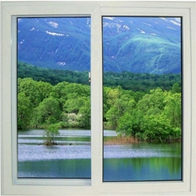 pvc glass window