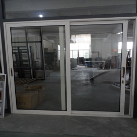 pvc white sliding door