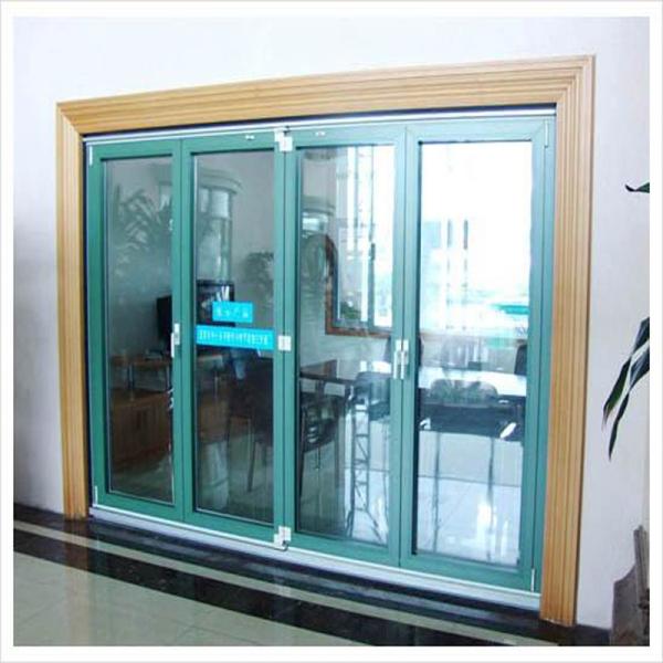 Aluminum Folding Soundproof Interior Door Exterior Aluminium Folding Doors