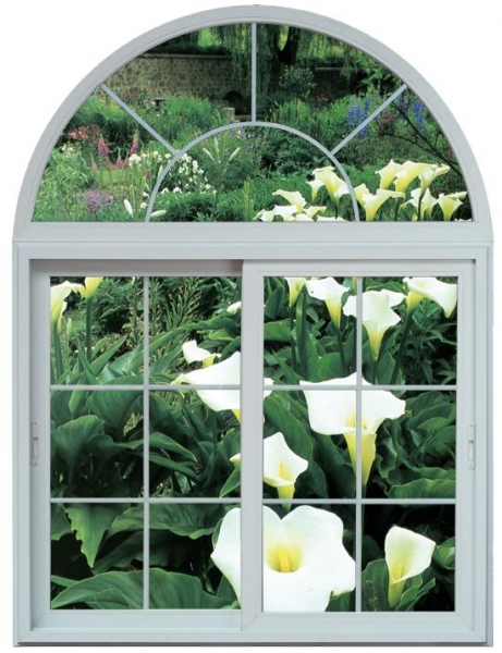 sliding windows with arch