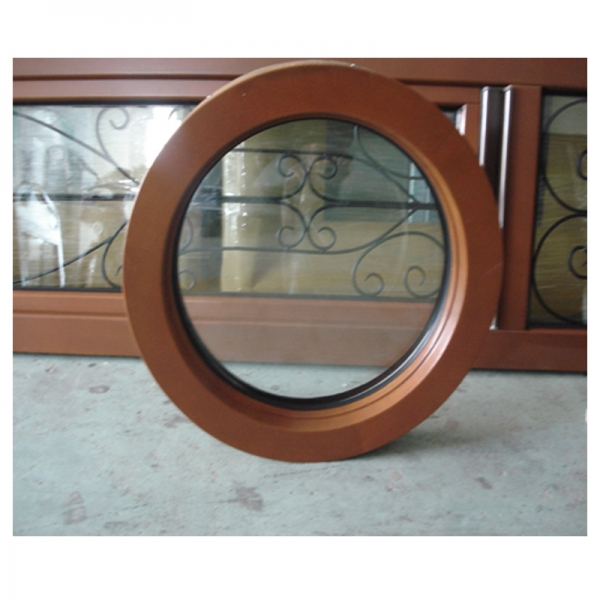 Small Round Windows: Residential Wood Frame Round Windows,solid Wood Exterior Doors