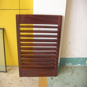 solid wood roller shutter