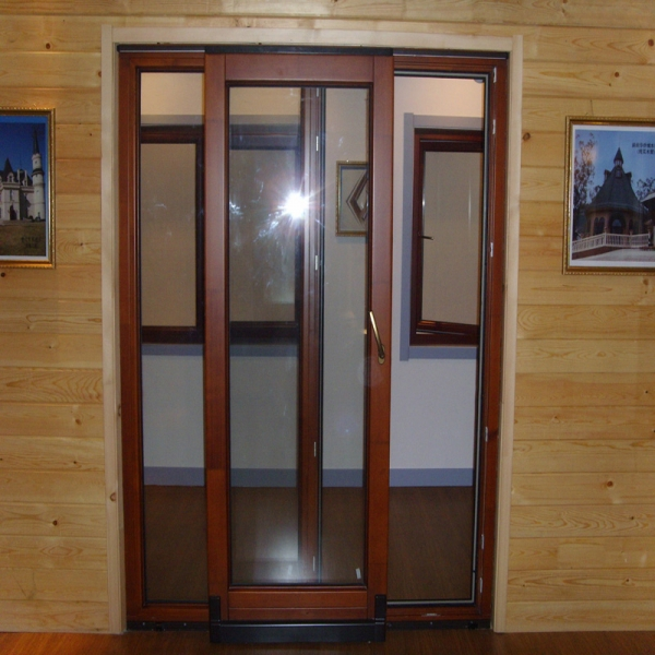 Good quality wooden tilt and sliding french patio doors for Wood french patio doors