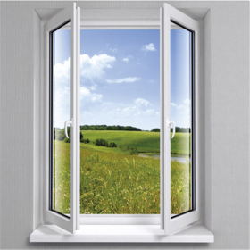 pvc profile window