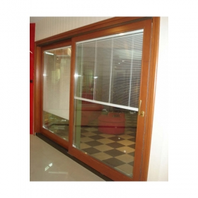 Solid wood sliding door