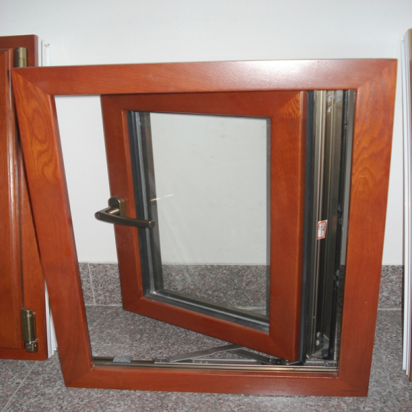 Picture wood clad replacement aluminum casement windows for Aluminum replacement windows