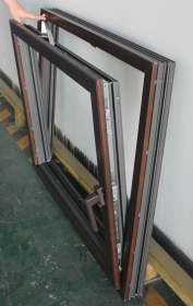 wood aluminum clad windows