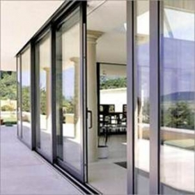 double glazing aluminum doors