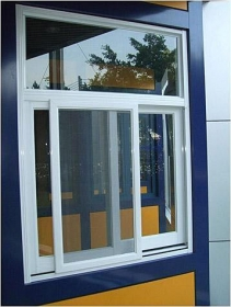 aluminum slider window
