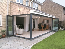 energy saving folding doors