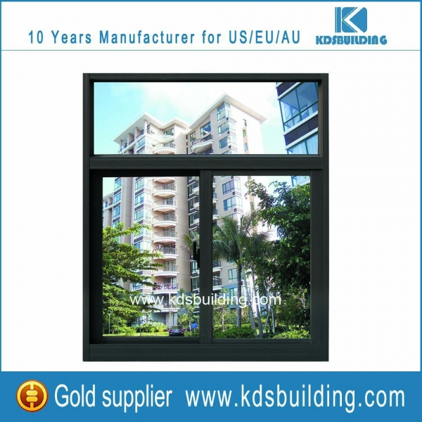 Aluminum glass windows for high-end apartments windows and doors application online