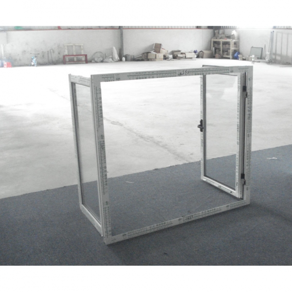 single pane aluminum casement window
